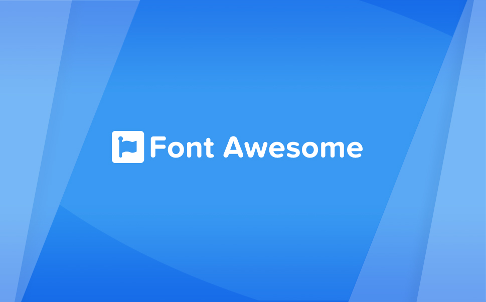 Logo de la libraire Font Awesome