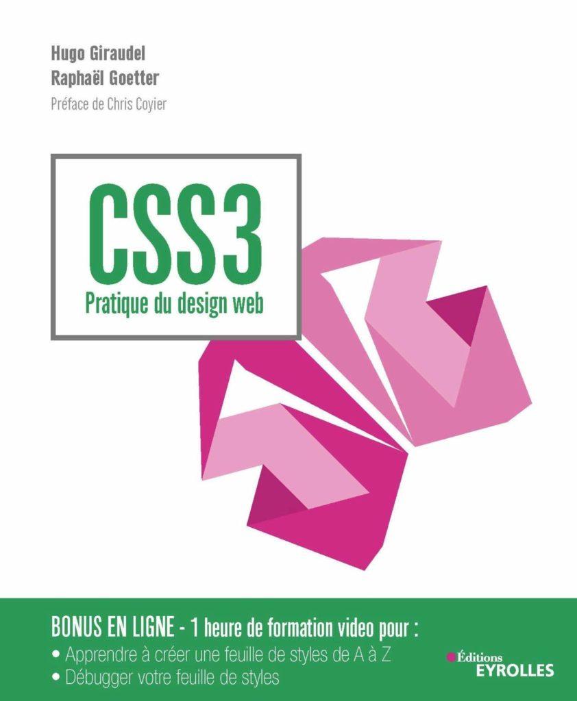 couverture du livre CSS3 - Pratique du design web