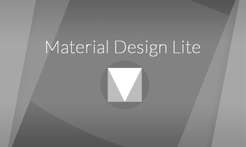 Introduction à Material Design Lite